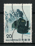 Japan Mi:01245 1975.04.03 Steam Locomotives Series 3rd(used.w) - 1926-89 Empereur Hirohito (Ere Showa)