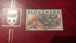 1999 Anniversario Velvet Revolution - Slovaquie