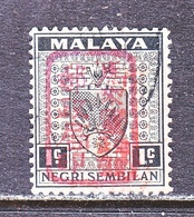 JAPANESE  OCCUP.  NEGRI SEMBILAN  N 1  (o) - Great Britain (former Colonies & Protectorates)