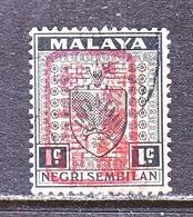 JAPANESE  OCCUP.  NEGRI SEMBILAN  N 1  (o) - Groot-Brittannië (oude Kolonies En Protectoraten)
