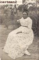 TYPE DE FEMME DE SIERRA-LEONE EN TENUE DE SOIREE ETHNOLOGIE ETHNIC AFRIQUE SIERRA-LEON - Sierra Leone