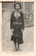 TYPES ET PEUPLADES FRONTIERE SINO-ANNAMITE HOMME MAN DÊN CHINE CHINA TONKIN QUANG-SI VIETNAM G. TAUPIN HANOÏ ETHNOLOGIE - Vietnam