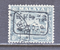 JAPANESE  OCCUP. Selangor  N 7   (o) - Great Britain (former Colonies & Protectorates)