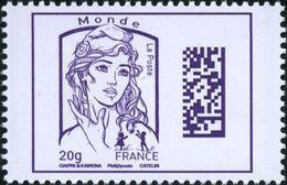 France N° 4976 ** Marianne De Ciappa Et Kawena. Dadamatrix Le 20 Grammes Violet Monde - 2013-... Marianne (Ciappa-Kawena)