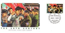 "ILES MARSHALL Enveloppe 1er Jour "" 20° SIECLE : EYES OF WORLD FOCUS ON TIANANMEN "". FDC - History"