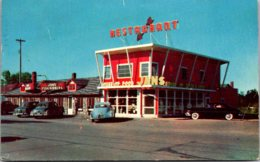 Michigan Mackinaw City Jan's House Of Gifts & Restaurant 1954