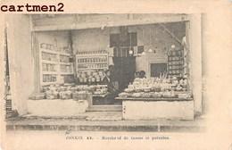 TONKIN HANOÏ MARCHAND DE TASSES ET POTERIES VIETNAM INDOCHINE 1900 CREBESSAC HANOÏ - Viêt-Nam