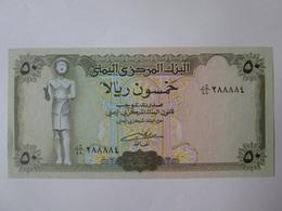 Yemen 50 Rials 1993-1996 Banknote UNC - Yemen