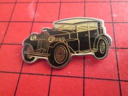 1318A Pin's Pins / De Belle Qualité Et Rare / THEME AUTOMOBILES : VOITURE NOIRE ANNEES 20/30 A IDENTIFIER - Jaguar