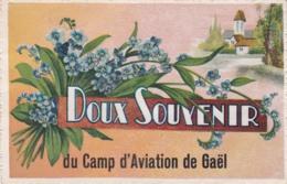 ILLE ET VILAINE CAMP D AVIATION DE GAEL DOUX SOUVENIRS - France