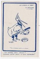 """CPA ILLUSTRATEUR """"Les Animaux De Gibbs"""" La Becasse - Illustrators & Photographers"""