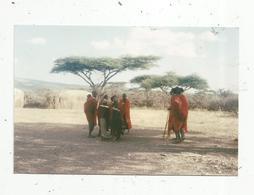 Photographie , 150 X 100 Mm, Afrique, Femmes ,hommes, Enfants - Lieux
