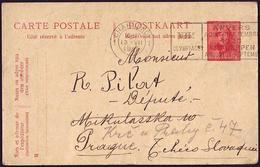Belgium - 1920 H - Olympic Games 1920 - Card - Ete 1920: Anvers