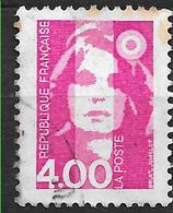 FRANCE  2717  Marianne De Briat 4.00 Rose . - France