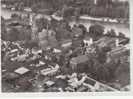 St.Aegidius - Hersel B. Bonn - Luftaufnahme - Bornheim