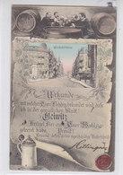 Gleiwitz - Urkunde Mit Wilhelmstrasse - 1907 ALKOHOL - Schlesien