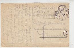 Belgische Feldpost Aus Crefeld 7.12.21 Nach Anvers - Briefe U. Dokumente