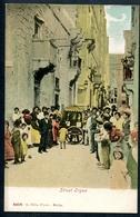Malta, Malte, Vor 1905, Street Orgon, R. Ellies, Photo  00479 - Malte