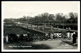 Oslo, Parti Fra Frognerparken, Um 1930, Küenholdt, 3286 - Norwegen