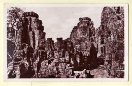 As052 Cambodge ANGKOR THOM BAÏON Sur La Terrasse 1930s FRANCE LOINTAINE - FLEURY 10 Coll. Agence Economique INDO CHINE - Cambodge