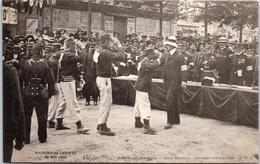 75 PARIS - Marche De L'armée 1904 - Salut Militaire à L'arrivée - Autres
