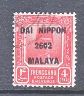 JAPANESE  OCCUP.  TRENGGANU   N 37   (o) - Ocupacion Japonesa