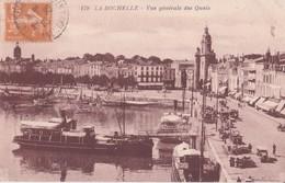 CPA - 179. LA ROCHELLE - Vue Générale Des Quais - La Rochelle