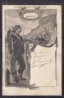 CPA MILITARIA - A La Gloire Du 9 ème Bon D' Artillerie à Pied - 5 ème Batterie - TB ILLUSTRATION BELFORT TB Verso 1904 - Regiments