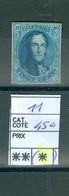 11  (x) Côte 450€ - 1858-1862 Médaillons (9/12)