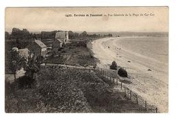29 FINISTERE - FOUESNANT Environs, Vue Générale De La Plage Du Cap Coz - Fouesnant