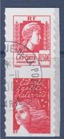= Issu De Carnet Adhésif  Paire Oblitérée Marianne D'Alger 0.50€ Et Marianne De Luquet Tvp P43 (30 Et 43) - 1997-04 Maríanne Du 14 Juillet