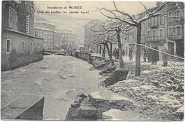 INONDATION DE MOREZ: QUAI DES JARDINS LE 21 JANVIER 1910 - Morez
