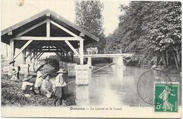 OUNANS: LE LAVOIR ET LE CANAL - Autres Communes