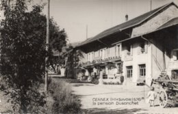 CPSM  74  CERNEX---LA PENSION DUSONCHET---1954 - Autres Communes