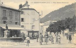 SAINT CLAUDE: PLACE DENFERT ROCHEREAU - Saint Claude