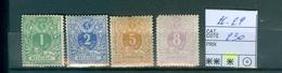 26-29 X Côte 230.00€ - 1869-1883 Leopoldo II