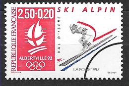 FRANCE  2710 Jeux Olympiques D'hiver Albertville 92 Ski Alpin. - France