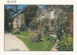 Cp , 33 , BLAYE , Jardin Fleuri Dans La Citadelle - Blaye