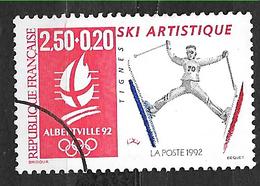 FRANCE  2709 Jeux Olympiques D'hiver Albertville 92 Ski Artistique. - France