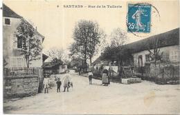 SANTANS: RUE DE LA TUILERIE - Autres Communes