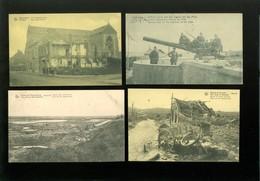 Beau Lot De 20 Cartes Postales De Belgique  Guerre  Ruines Roulers Mooi Lot Van 20 Postkaarten Van België Ruinen  Oorlog - Cartes Postales