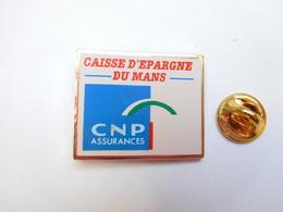 Beau Pin's En Plastique  , Banque Caisse D'Epargne Du Mans , CNP Assurances - Banche