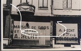 9 Charleroi 1940. Magasin Juif Fermé Avec Inscriptions. Repro - 1939-45
