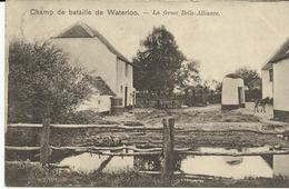 Champ De Bataille De Waterloo La Ferme Belle-Alliance  (1042) - Waterloo