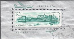HUNGARY   SCOTT NO.  C250     USED SOUV. SHEET    YEAR  1964 - Hungary