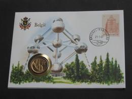 BELGIQUE - 20 Francs 1982  - Monnaie Sur Enveloppe   **** EN ACHAT IMMEDIAT **** - 07. 20 Francs