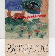 87 - LIMOGES- RARE PROGRAMME COLLEGE MODERNE TECHNIQUE JEUNES FILLES-1950- LUCETTE PASTY- FETE DISTRICT- ECLAIREUSES- - Programmi