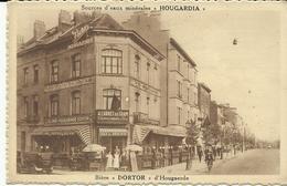 """Sources D'eaux Minérales """"Hougardia"""" Bière """"Dortor"""" D'Hougaerde    (1054) - Cafés, Hotels, Restaurants"""