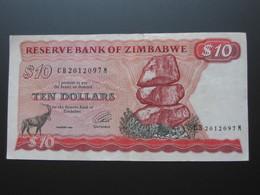 10 Ten  Dollars 1994 - Reserve Bank Of ZIMBABWE **** EN ACHAT IMMEDIAT **** - Zimbabwe