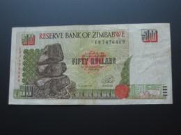50 Fifty  Dollars 1994 - Reserve Bank Of ZIMBABWE **** EN ACHAT IMMEDIAT **** - Zimbabwe